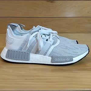 Adidas NMD R1 Blizzard White Running Shoe B79759 NWT